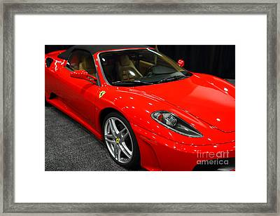 2006 Ferrari F430 Spider . 7d9385 Framed Print by Wingsdomain Art and Photography
