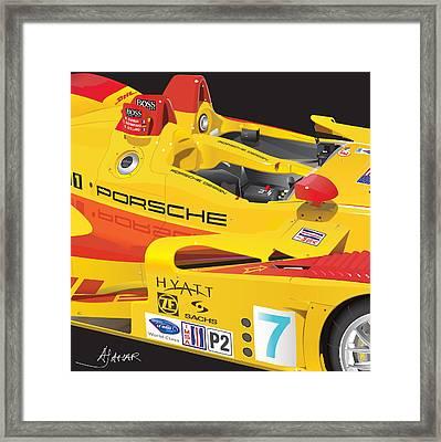 2008 Rsk Spyder Framed Print by Alain Jamar