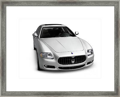 2009 Maserati Quattroporte S Framed Print by Oleksiy Maksymenko