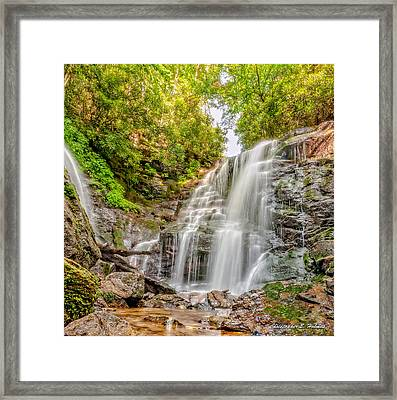 Rocky Falls Framed Print by Christopher Holmes
