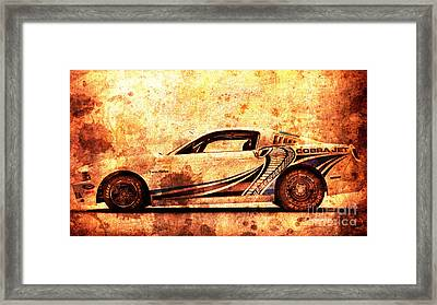 2015 Ford Mustang Cobra Jet Turbo Framed Print by Pablo Franchi