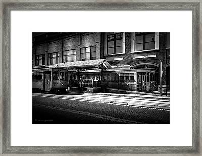 2016 Tampa Street Cars Framed Print by Marvin Spates