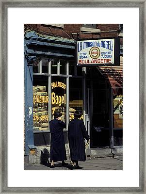 Montreal Framed Print by Pierre Roussel
