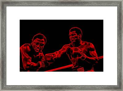 Muhammad Ali Collection Framed Print by Marvin Blaine