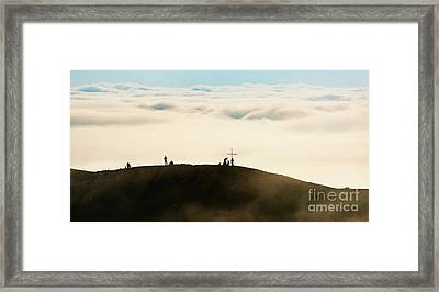 2500 M Up Framed Print by Svetlana Sewell