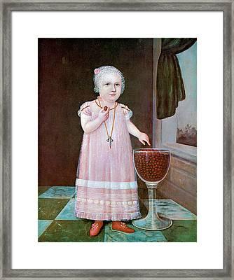 Emma Van Name Framed Print by Unknown Artist