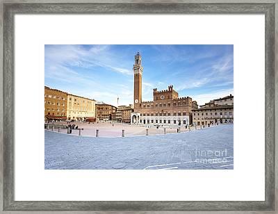 Siena Framed Print by Andre Goncalves
