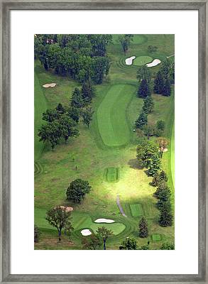 2nd Hole Sunnybrook Golf Club 398 Stenton Avenue Plymouth Meeting Pa 19462 1243 Framed Print by Duncan Pearson