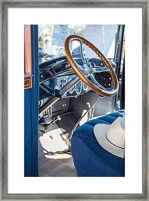 1924 Buick Duchess Antique Vintage Photograph Fine Art Prints 113 Framed Print by M K  Miller