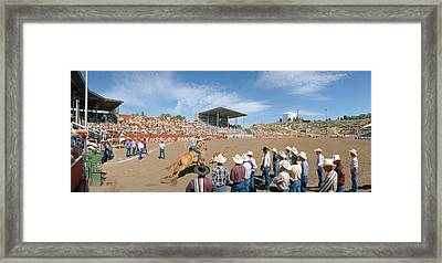 75th Ellensburg Rodeo, Labor Day Framed Print by Panoramic Images