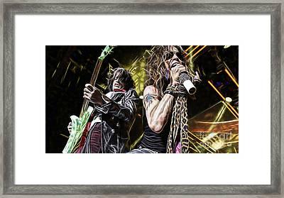 Aerosmith Collection Framed Print by Marvin Blaine