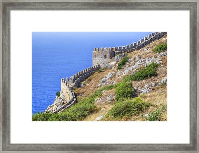 Alanya - Turkey Framed Print by Joana Kruse
