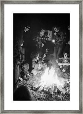 Altamont Concert Framed Print by Baron Wolman