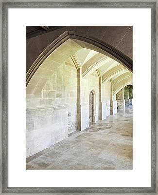 Arches Framed Print by Tom Gowanlock