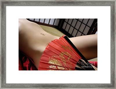 Beautiful Naked Woman Framed Print by Oleksiy Maksymenko
