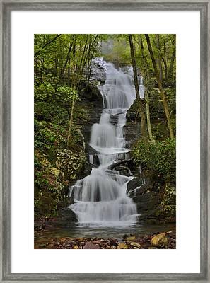 Buttermilk Falls Framed Print by Stephen  Vecchiotti