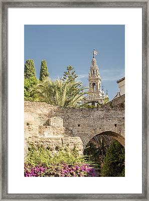 Cathedral Of Seville - Seville Spain Framed Print by Jon Berghoff