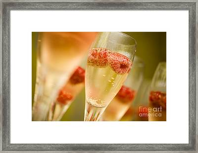 Champagne Framed Print by Kati Molin