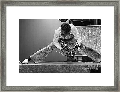 Chuck Berry Framed Print by Terry O'Neill