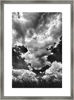 Clouds Framed Print by Robert Ullmann