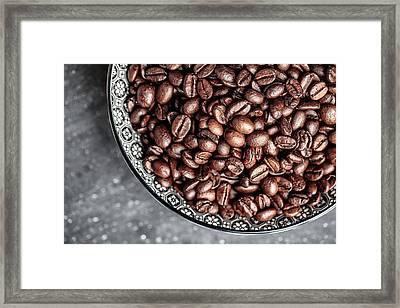 Coffee Framed Print by Nailia Schwarz