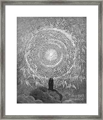 Dante: Paradise Framed Print by Granger