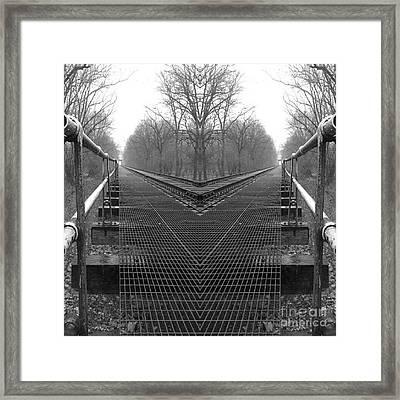 Decisions - Black And White Framed Print by Scott D Van Osdol