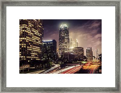 Dtla Framed Print by Cristian Todea