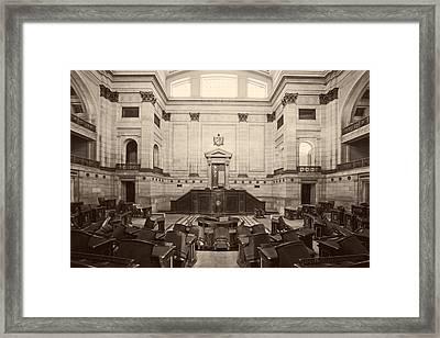 El Capitolio - Havana Framed Print by Mountain Dreams