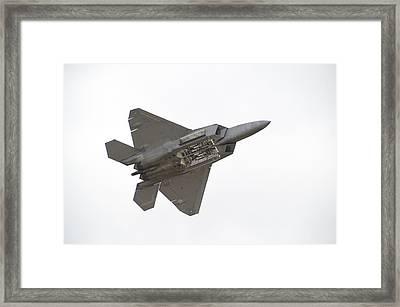 F-22 Raptor Framed Print by Sebastian Musial