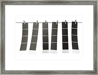 Hanging Instant Photograph Gallery Framed Print by Allan Swart
