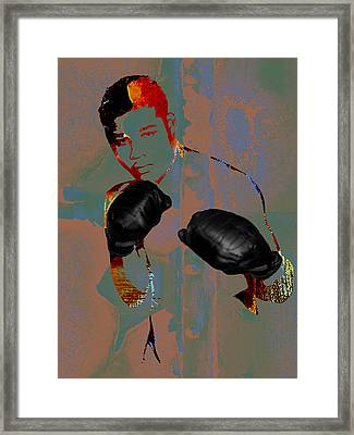 Joe Louis Collection Framed Print by Marvin Blaine