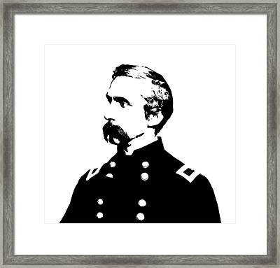 Joshua Lawrence Chamberlain  Framed Print by War Is Hell Store