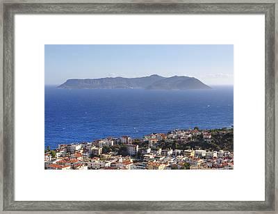 Kas - Turkey Framed Print by Joana Kruse