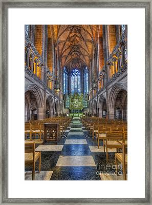 Lady Chapel Framed Print by Ian Mitchell