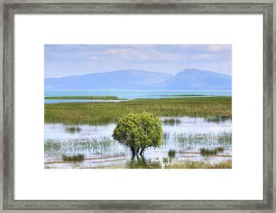 Lake Beysehir - Turkey Framed Print by Joana Kruse