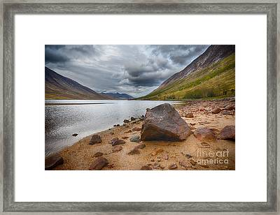 Loch Etive Framed Print by Stephen Smith