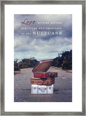 Love Framed Print by Joana Kruse