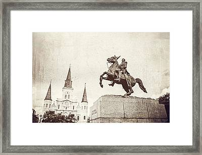 Major General Andrew Jackson Framed Print by Scott Pellegrin