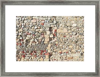 Medieval Ruins Framed Print by Tom Gowanlock