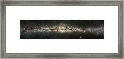 Milky Way Framed Print by Eckhard Slawik