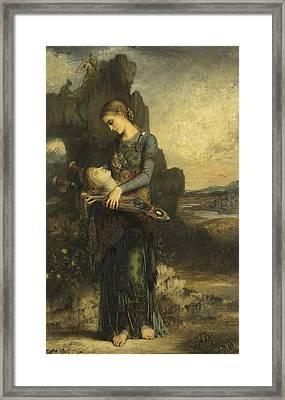 Orpheus Framed Print by Gustave Moreau