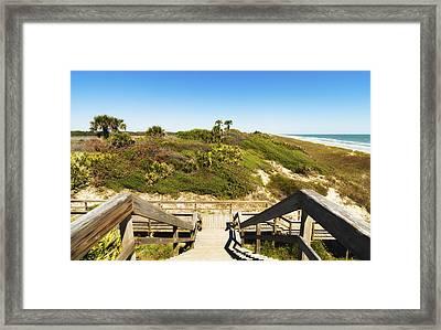 Ponte Vedra Beach Framed Print by Raul Rodriguez
