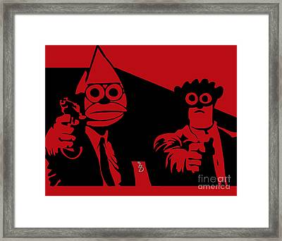 Regular Fiction Framed Print by The DigArtisT