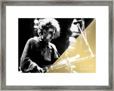 Robert Smith Collection Framed Print by Marvin Blaine