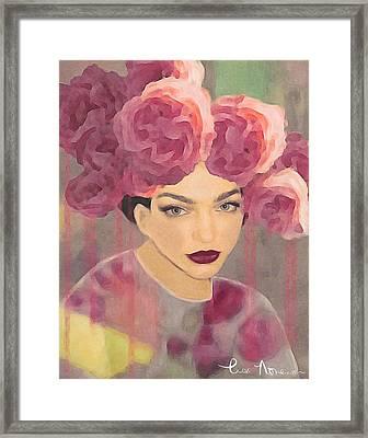 Rose Framed Print by Lisa Noneman