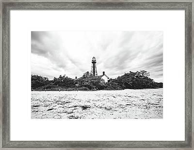 Sanibel Lighthouse Framed Print by Scott Pellegrin