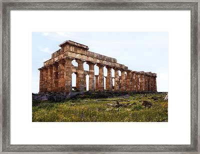 Selinunte - Sicily Framed Print by Joana Kruse