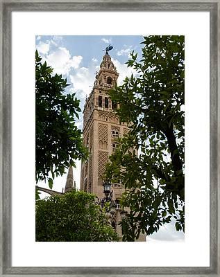Sevilla - La Giralda Framed Print by Andrea Mazzocchetti