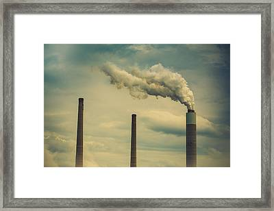 3 Framed Print by Shane Holsclaw